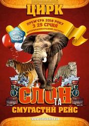 Билеты в Национальный Цирк - Слон и полосатый рейс (10 марта)